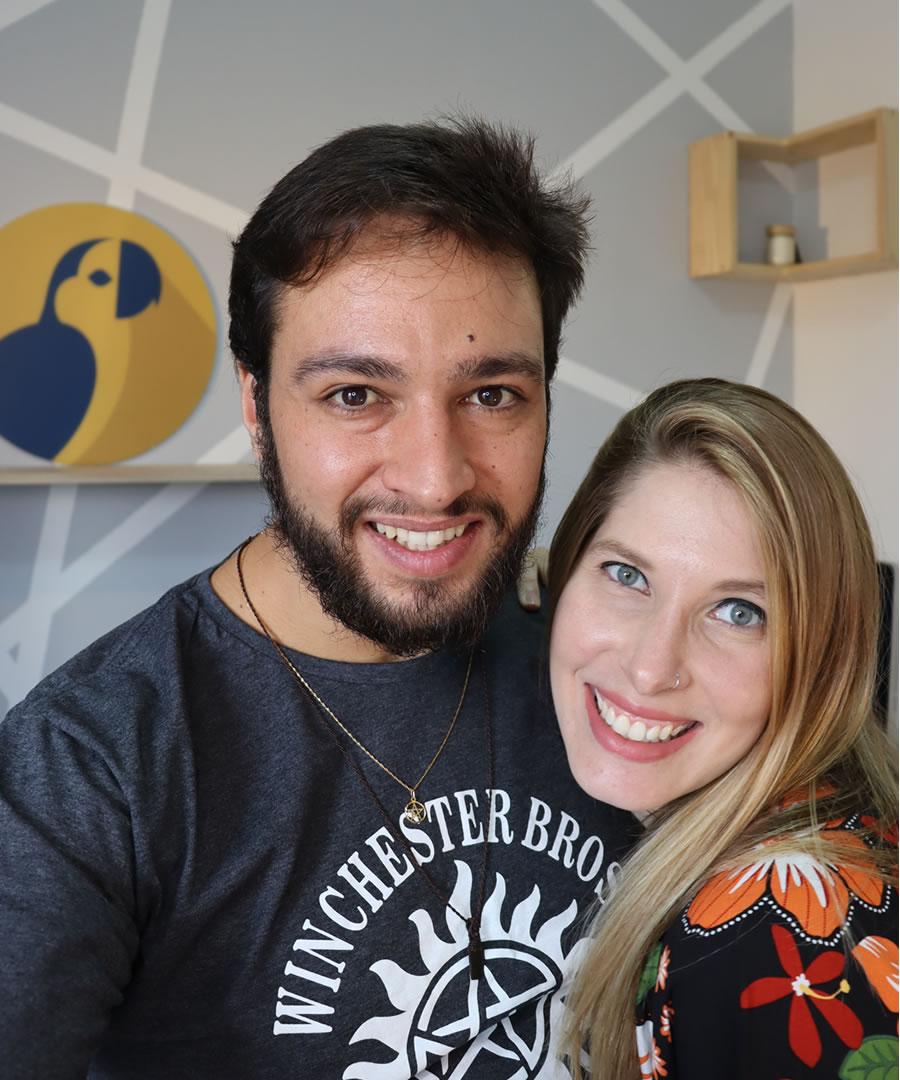 Gabriela Amoroso e Fabio Amoroso Canindé
